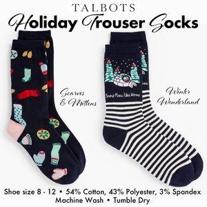 Talbots Trouser Socks